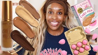 What We Never Knew We Needed? Beauty Bakerie Foundations | Jackie Aina