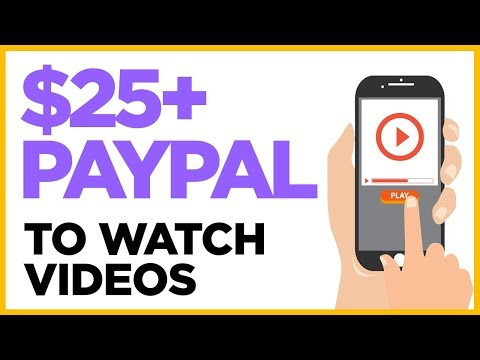 Make Money Watching Videos – Get PayPal Money
