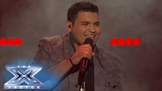 "Carlos Guevara Knows ""What's Going On""   THE X FACTOR USA 2013"