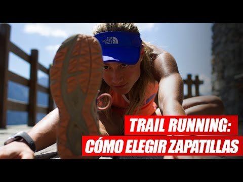 Trail running: tipos de zapatillas