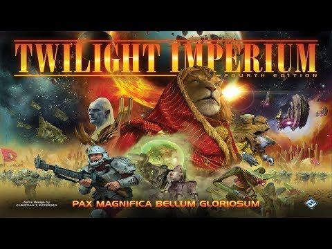 No Runthrough Review: Twilight Imperium - 4th Edition