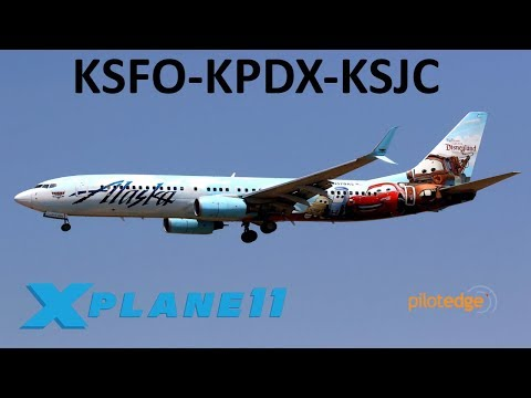 X-Plane 11 | FFA320 BSS Sound pack!!!! | KPDX-KSFO-KPHX-KASE