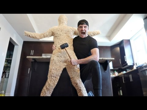 DIY GIANT RICE KRISPIE HUMAN (WORLD RECORD 100+ LBS)