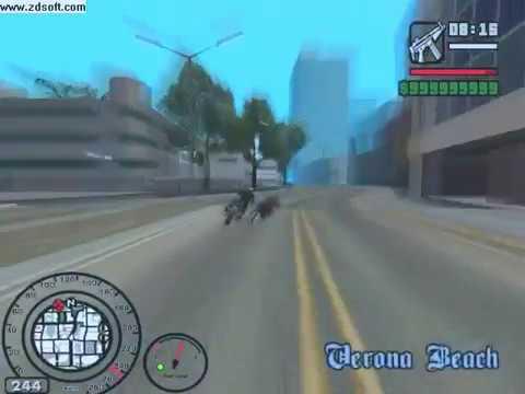 Video Mod Gta San Andreas Motor Drag