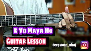 K Yo Maya Ho - Jerry Guitar Lesson
