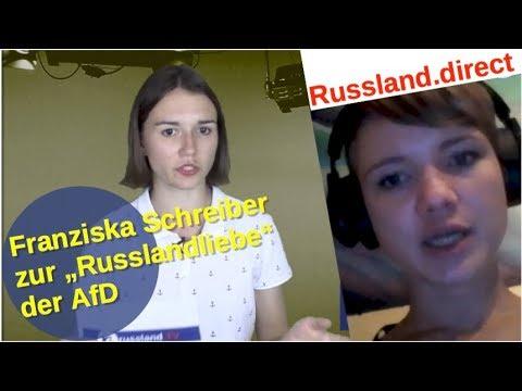 AfD-Russlandliebe mit Franziska Schreiber [Video]