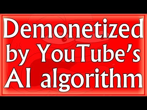 This persons whole YouTube channel has been demonetized because copycat channels steal/re-upload his videos