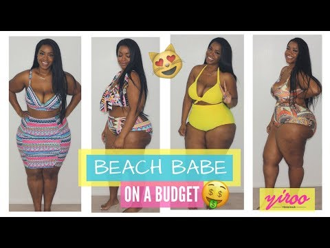 3a6d9dfc49773 Affordable plus size swimsuit try-on haul feat gamiss yiroo hair chelcie j