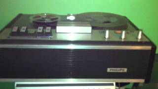 Philips 4307 reel to reel tape recorder