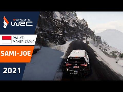 E-sports WRC2021 モンテカルロ 優勝を決めたサミ・ジョーのウィニングラン動画