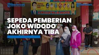 Sepeda Hadiah Pelajar SMP yang Bacakan Puisi untuk Jokowi Akhirnya Tiba, Rencananya untuk Olahraga