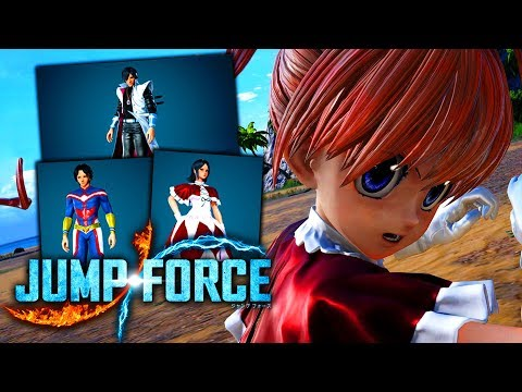 JUMP FORCE DLC Pack 1 NEW Avatar Items, Costumes & Special Moves!