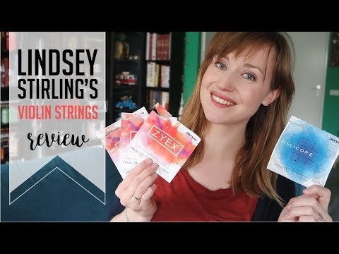 I tried Lindsey Stirling's violin strings | D'addario Zyex + Helicore | REVIEW