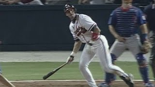 1998NLDS Gm2: Lopez's solo homer ties game in 9th