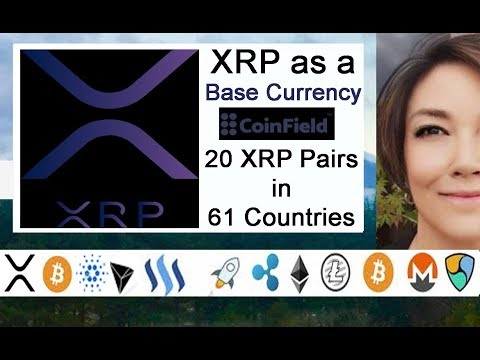 XRP is Base Currency in 61 Countries
