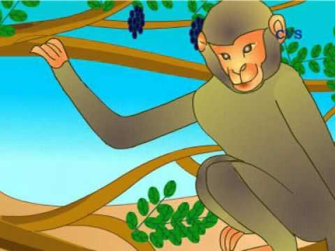 Panchatantra Hindi Animation Stories- Crocodile and Monkey