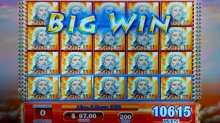 JACKPOT HANDPAY! Zeus II Slot - JAW-DROPPING, YES!!!