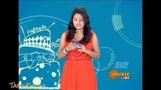 Sun music Vaazthukkal,show Divya Banu Anchor Vj HD Video 29 -06- 2016