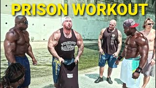 PRISON YARD WORKOUT - GET BIG WITH NO WEIGHTS | KALI MUSCLE | NDO CHAMP | BIG BOY