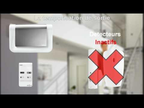 La temporisation de sortie des systèmes d'alarme Diagral
