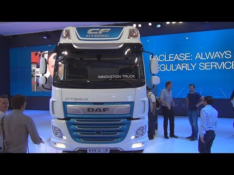 DAF CF Hybrid Tractor Truck (2019) Exterior and Interior