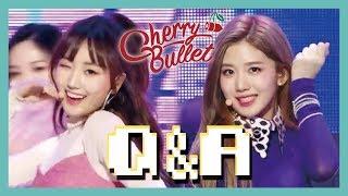 Gambar cover [Hot Debut] Cherry Bullet -  Q&A, 체리블렛 - Q&A Show Music core 20190126