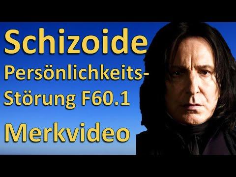Schizoide Persönlichkeitsstörung F60.1: HP Psychotherapie - Merkvideo mit Severus Snape