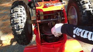How To Grease an Ariens Deluxe Snowblower Gear Box