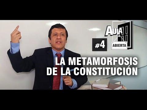 LA METAMORFOSIS DE LA CONSTITUCIÓN - Aula Abierta #4