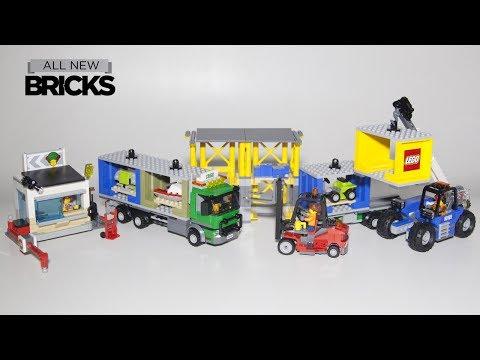 Vidéo LEGO City 60169 : Le terminal à conteneurs
