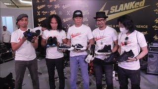 Slank Luncurkan Produk Sepatu Bernama Slanked