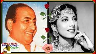 RAFI & SURAIYA-Film-KAJAL-{1948}-Taron Bhari Raat Hai