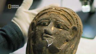 Skarby znalezione w grobowcu przerosły ich oczekiwania! [Tajemnicze mumie z Sakkary]