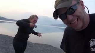 day 9 in Alaska KENAI LAKE ( really blue water)