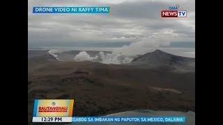 BT: Bulkang Taal, patuloy na nagbubuga ng usok; ilang establisimiyento, limitado ang operasyon