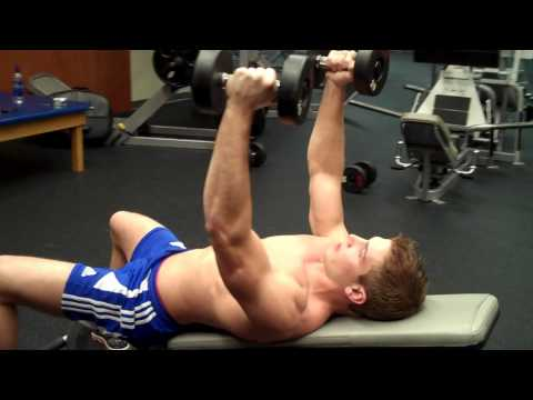 Dumbbell Fly On Incline Bench