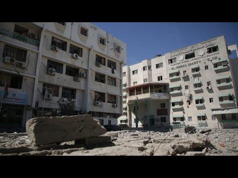 Conflito, destruição e pandemia, crises que sufocam Gaza