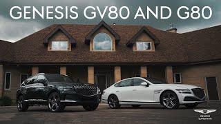 FIRST LOOK at the new 2021 Genesis GV80 & G80! Genesis or the Germans?