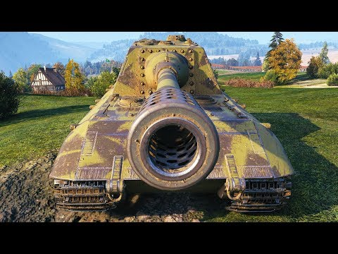 Jagdpanzer E 100 - DAMAGE MONSTER - World of Tanks Gameplay
