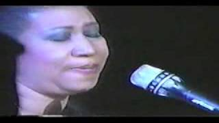 Aretha Franklin Bridge Over Troubled Water Early 90s