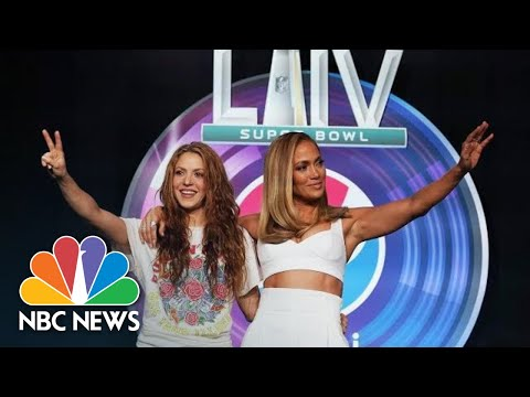 JLo, Shakira: Super Bowl Halftime 'Important Moment' For Latinos In U.S. | NBC News