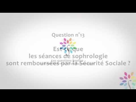 Est-ce que les séances de sophrologie sont remboursées par la sécurité sociale ?