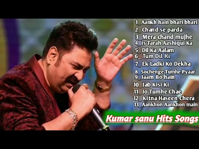 ROMANTIC HITS OF KUMAR SANU & ALKA YAGNIK || 90's Superhit Love Songs  Evergreen Hindi Sad Songs