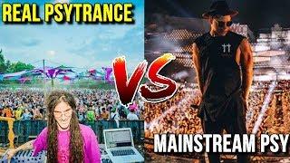 Real Psytrance VS Mainstream Psytrance