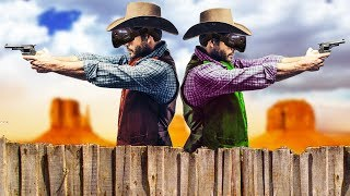 Robbing Banks in the Old West with Graystillplays! - Westard Gameplay - VR HTC Vive