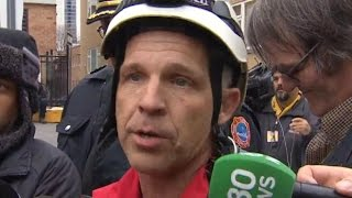 Woman rescued from Toronto crane: