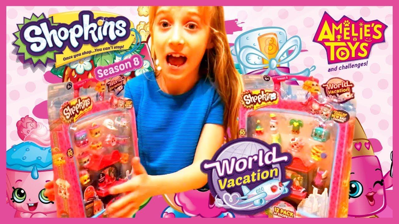 Shopkins Series 8 World Vacation Wave 3 Americas 12 Packs #SPK