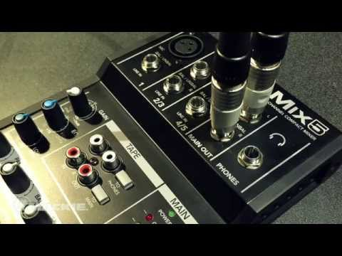 Mackie Mix5 (Studio et mixeur live)