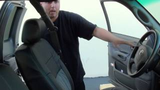 2003 Toyota Tundra with Katzkin interior. AVHP-4300dvd, Focal, Alpine, Pioneer | Pacific Stereo