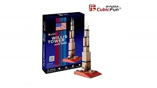 """La Torre Willis"" - ""Willis Tower""   Puzzle 3D"